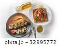 ガレット クレープ フランス料理の写真 32995772