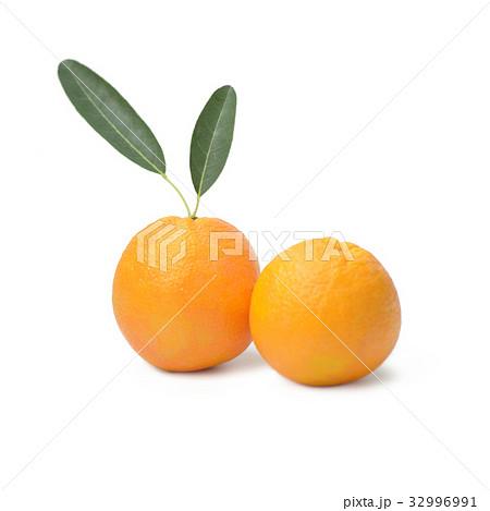 Navel Orange Isolated on White Backgroundの写真素材 [32996991] - PIXTA