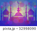 Card for greeting with Islam feasts 32998090