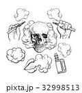 煙 スモーク ベクタのイラスト 32998513