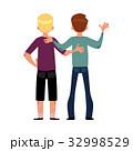 少年 友愛 友情のイラスト 32998529