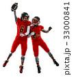 アメリカンフットボール フットボール 選手たちの写真 33000841
