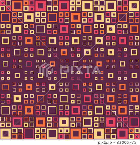 Seamless Square Patternのイラスト素材 [33005775] - PIXTA