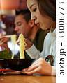 食事をする 食事 食べるの写真 33006773