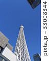 東京スカイツリー 青空 電波塔の写真 33008344