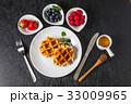 ワッフル ベルギー料理 Waffle Belgium dish 33009965