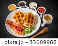 ワッフル ベルギー料理 Waffle Belgium dish 33009966