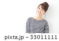 女性 人物 笑顔の写真 33011111