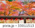 紅葉 絵馬 寺の写真 33011513
