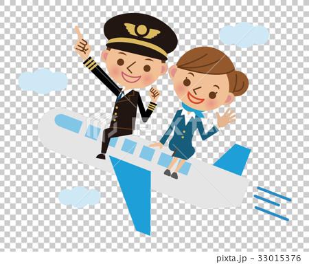cabin attendant, stewardess, pilot 33015376