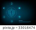 セキュリティ セキュリティー 安全のイラスト 33016474