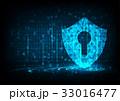 セキュリティ セキュリティー 安全のイラスト 33016477