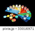 カラー 色 色彩のイラスト 33016971
