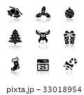 クリスマス ベクトル アイコンのイラスト 33018954