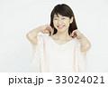 若い女性のポートレート   33024021