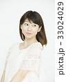 若い女性のポートレート   33024029