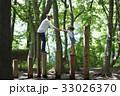 親子 アスレチック 公園の写真 33026370