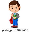 マンガ 教育 男子生徒のイラスト 33027410