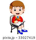 少年 男の子 マンガのイラスト 33027419