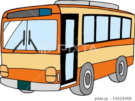路線バス イラスト 33029366