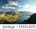 山脈 山あい 渓谷の写真 33031929