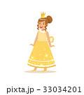 クラウン お姫さま プリンセスのイラスト 33034201