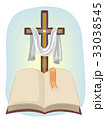 クリスチャン バイブル しおりのイラスト 33038545