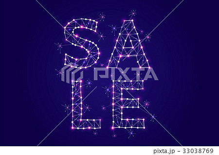 Abstract vector illustration of SALE wording.のイラスト素材 [33038769] - PIXTA