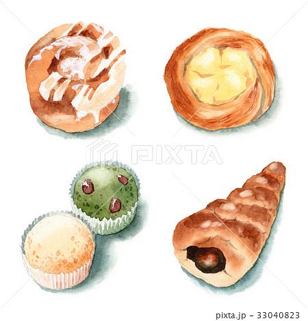 菓子パン4種 33040823