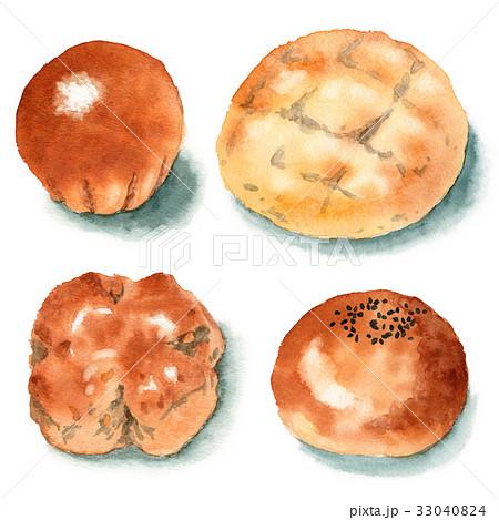 菓子パン4種 33040824