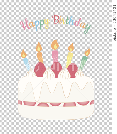 birthday cake, greeting card, candle 33041401