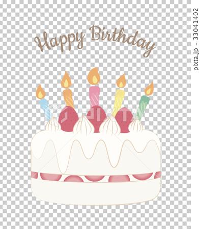 生日蛋糕 賀卡 蠟燭 33041402