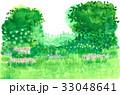 花 草原 庭のイラスト 33048641