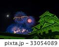 長浜 北びわ湖大花火大会 夜の長浜城 比較明合成 33054089