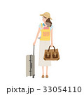 旅行する 親子のイラスト 33054110