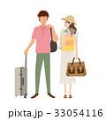旅行 荷物 イラストのイラスト 33054116