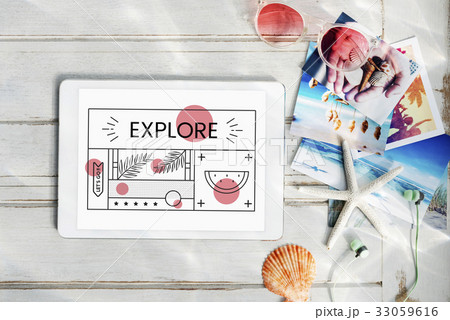 Enjoyment Holiday Vacation Chill Conceptの写真素材 [33059616] - PIXTA
