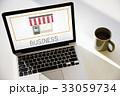 ビジネス 商売 グラフィックの写真 33059734