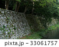 Stone wall and river 33061757