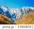 谷川岳 一の倉沢 紅葉の写真 33068691