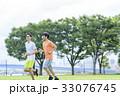 ジョギング 33076745