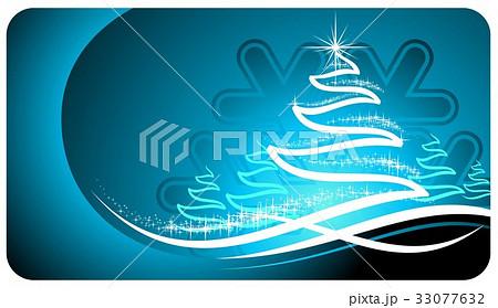 Vector Christmas Holiday Illustration.のイラスト素材 [33077632] - PIXTA
