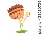 テニス 少年 選手のイラスト 33080734