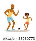 ボール サッカー フットボールのイラスト 33080773