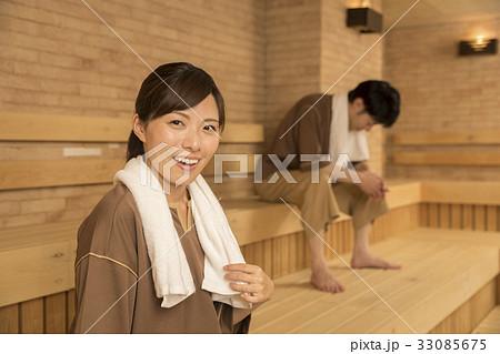 男女混浴サウナ 33085675