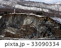2月 知床半島の安山岩柱状節理 33090334