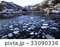 2月 流氷の羅臼港 33090336
