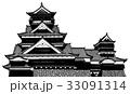 熊本城1 【カラー】 33091314