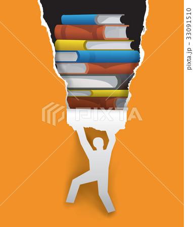 Discover good literature concept 33091510