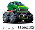 Cartoon Monster Truck 33098152